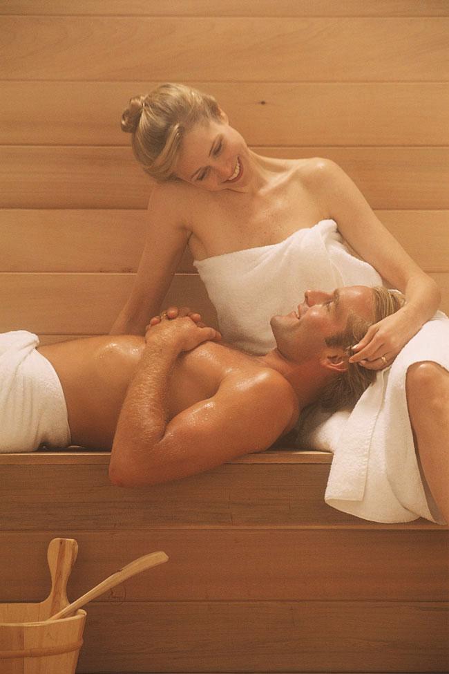 Секс русской бане